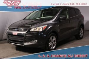 2015 Ford Escape SE 4X4  CAMERA RECUL BAS KM  A/C