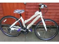 Ladies brand new city hybred bike