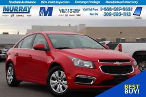2016 Chevrolet Cruze LT*REAR VISION CAMERA,HEATED MIRRORS*