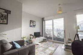 1 Bed Apartment, £1350PCM Excluding Bills, 6th Floor, Gym, 24hrs Concierge, Bromley-By-Bow E3 - SA