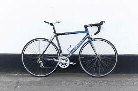 Orbea road bike blue and black 54 frame