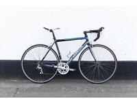 Orbea road bike blue and black 54 frame