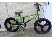 bike BMX Silverfox Extinct 20inch MAG wheels