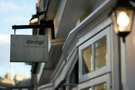 Chef de Partie at Dinings restaurant, Marylebone, up to £24K