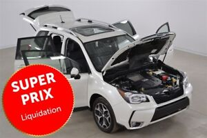 2015 Subaru Forester XT 4WD Limited GPS+Cuir+Toit Ouvrant+Demarr