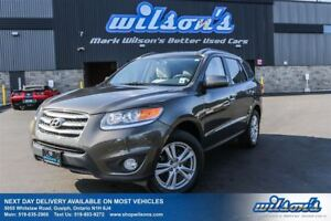 2012 Hyundai Santa Fe SE AWD! LEATHER! SUNROOF! HEATED SEATS! BL