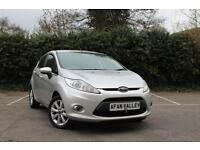 FORD FIESTA 1.25 Zetec 5dr [82] **2 LADY OWNERS+FINANCE AVALIBLE** (silver) 2011
