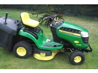 John Deere X135R Lawn Tractor Lawn Mower Ride-On Lawnmower For Sale Armagh Area