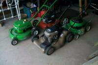 2 LAWNBOYS AND A CRAFTSMAN SELF PROPELLED