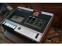 Sony TC121 top load tape cassette deck.