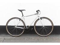 Charge single speed freewhee 38 c tires very comfortable bike