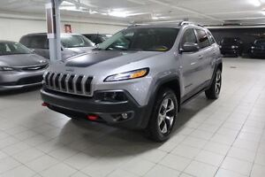 2016 Jeep Cherokee TRAILHAWK PLUS 4X4 * CUIR/TOIT/NAV/CAMERA REC