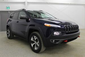 2015 Jeep Cherokee Trailhawk - V6| PST paid| Accident Free| Leat