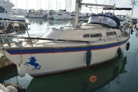 Westerly Merlin - main parts renewed, including engine, mast , boom sails and rigging, safe and easy