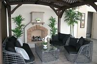 Patio Sets, Outdoor Fire Pits, Propane Fire Place, Natural Gas