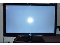 """LG 42"""" LED LCD HD Television- fully functional, with minor fault (see description)"""
