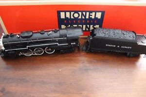 LIONEL BOSTON & ALBANY HUDSON W/ RAILSOUNDS AND TMCC #6-18042 New In Box