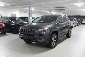 2016 Jeep Cherokee TRAILHAWK PLUS 4X4 *CUIR/TOIT/NAV/CAMERA RECU