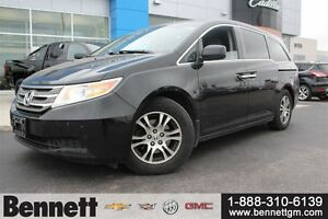2011 Honda Odyssey EX-L - Leather seats + DVD