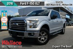 2016 Ford F-150 XLT/1-OWNER/CLEAN HSTRY/4WD/XLT PKG/REMOTE START