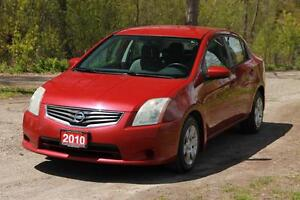 2010 Nissan Sentra 2.0 S | Accident-FREE | CERTIFIED + E-Tested