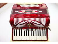 Royal Standard 34/80 accordion,serviced,tuned.German Welmeister group.