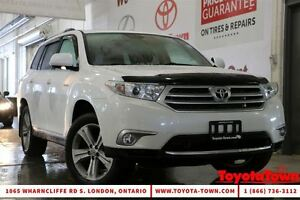 2012 Toyota Highlander 7 PASSENGER LIMITED LEATHER & NAVIGATION