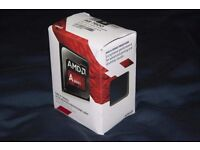 AMD A8-7600 Quad Core 3.1GHz FM2+ 2MB Cache 65W TDP CPU Processor desktop Excellent condition