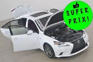 2015 Lexus IS 250 AWD F-Sport 2 GPS+Toit Ouvrant+Sieges Ventiles