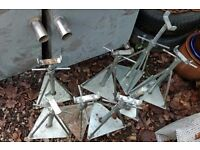 AXLE STANDS X 8