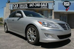 2012 Hyundai Genesis 3.8 Premium, NAV, BACK UP CAMERA, LEATHER,