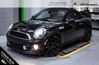 2012 MINI COOPER S ROADSTER (RARE) -- 17 -- NAVI -- CUIR SALON C