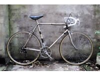 RALEIGH MEDALE, vintage racer racing road bike, 24 inch XL size, 10 speed
