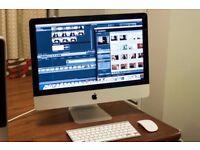 "Latest Slim 21.5"" Apple iMac 2.7ghz Core i5 8gb Ram 256GB SSD Logic Pro X Pro Tools Cubase Ableton"