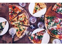 Homeslice Pizza are hiring exceptional waiter/waitresses –Covent Garden/Fitzrovia/Shoreditch