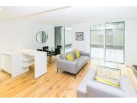NEW VACANT DESIGNR FURNISHED 1 BEDROOM APARTMENT PRIVATE TERRACE CONCIERGE WESTMINSTER HORSEFERRY RD