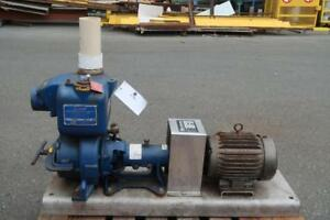 Gorman Self-Priming Centrifugal Pump w/ Motor