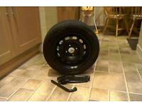 New 175/65 R14 wheel and tyre.