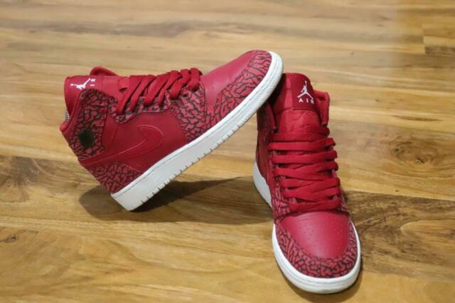 best website 7e057 a2ed8 Air Jordan 1 Retro Elephant print/ Gym red/ White | in Ilford, London |  Gumtree