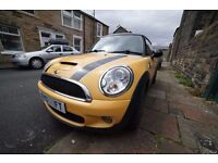 FAST Yellow mini cooper S Leather seats, sun roof