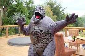 Godzilla dinosaur fancy dress suit