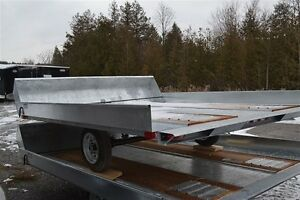 2017 Advantage 8x10 Open Sled Trailer FB8x10S