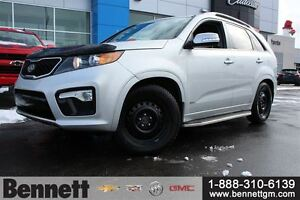 2013 Kia Sorento SX - Leather, Heated and Cooled Seats, Navigati