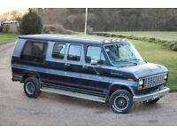 Ford Econoline E150 retro van camper For Sale (1988)
