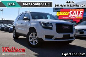 2014 GMC Acadia SLE2/1-OWNER/ACCIDENT-FREE/HEATED SEATS/REAR CAM