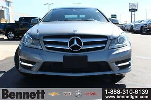 2012 Mercedes-Benz C-Class C350 -Loaded Coupe, Nav + Sunroof Kitchener / Waterloo Kitchener Area image 2