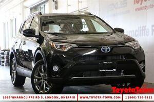2016 Toyota RAV4 LIMITED HYBRID LEATHER NAV BLIND SPOT MONITOR