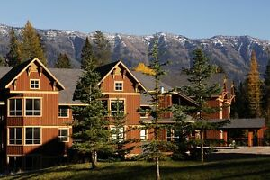 Desirable patio walk out 2 bed suite at Fernie Alpine Resort