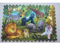 ELC Large Foam Jungle Floor Puzzle - Jigsaw, Ages 3-8, 48 Pieces