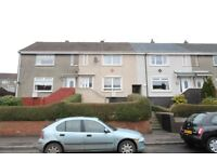 Modern 2 bedroom, unfurnished mid terraced house on Loanhead Street, Coatbridge, North Lanarkshire